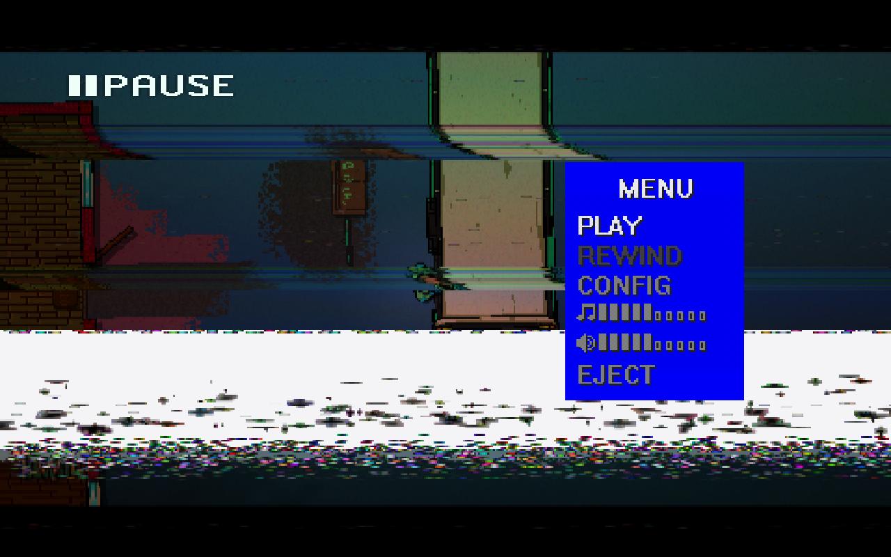 Hotline Miami 2 Menu